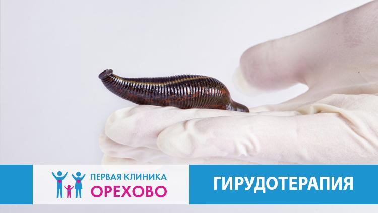 Гирудотерапевт в Орехово